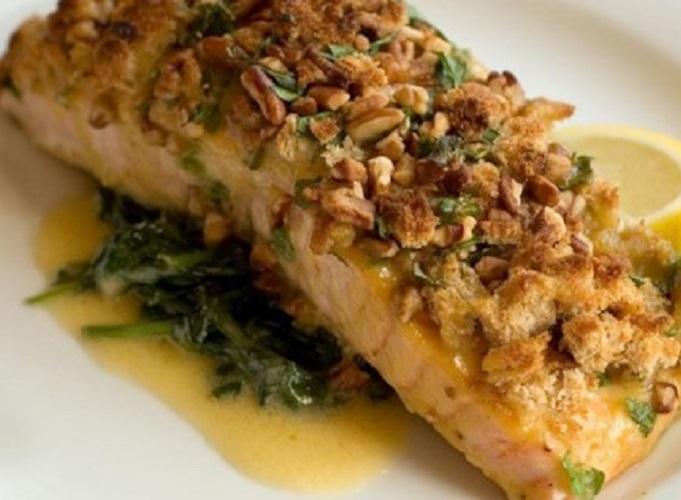 Alaska Salmon Pecan Recipe